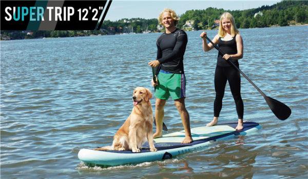 aqua marina super trip family paddleboard