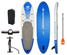 pathfinder paddle board inflatable
