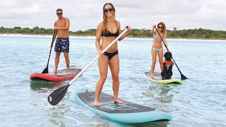 aqua marina inflatable paddle boards