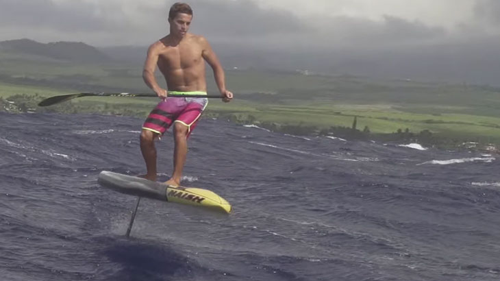 sup hydro foil downwind sup boarding