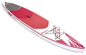Bestway Hydro Force Fastblast Tech sup board review