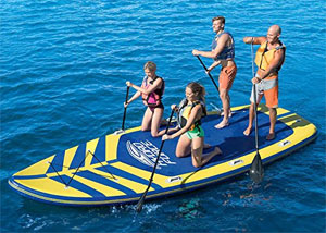 Bestway Hydro Force Megablast Tech family group paddle board