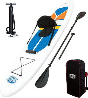 bestway hydro force white cap paddle board