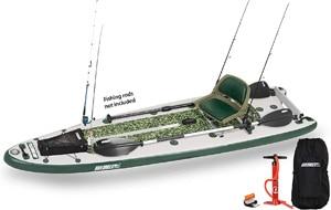 Sea Eagle FishSUP Inflatable Fish Paddle board