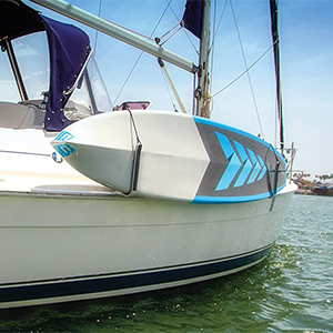 SurfStow Transport SUPRax SUP board boat rack