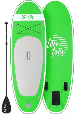 Ten Toes Nano iSUP kids paddle board review