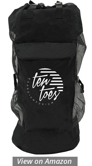 Ten Toes iSup Inflatable Standup Paddle Board bag 2017