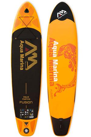 aqua marina fusion paddle board review