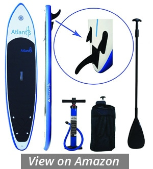 atlantis best inflatable paddle board