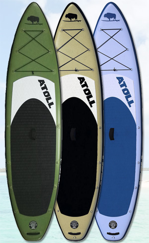 atoll best inflatable stand up paddle board
