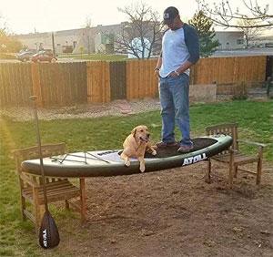 atoll paddle board sturdy