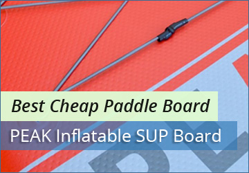 Best Cheap Paddle Board Peak Inflatable Sup