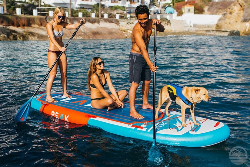 best multi person paddle boards