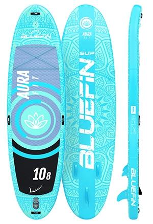 bluefin aura fit yoga sup board
