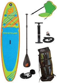 cheap sportstuff adventure paddle board