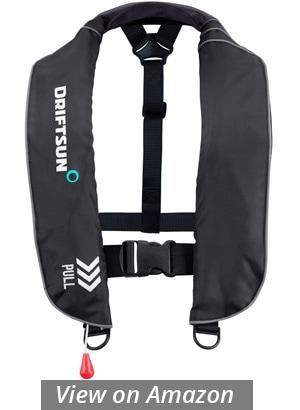 driftsun universal fit inflatable suspender pfd sup