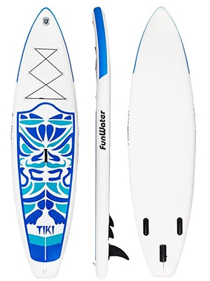 funwater cheap inflatable paddle board