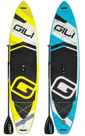 gili adventure inflatable sup board