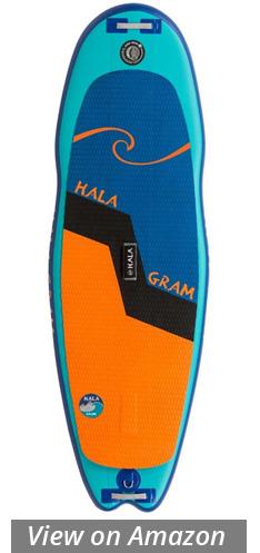 hala gram river ocean surf sup