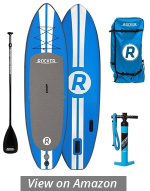 irocker all around inflatable paddle board