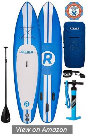 irocker sport inflatable paddle board review