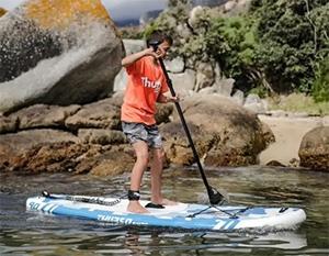 kids paddle boarding thurso prodigy