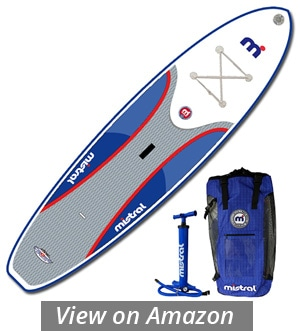 mistral adventure inflatable sup board