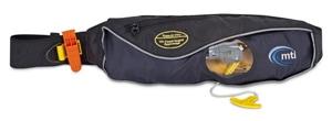 mti adventurewear fluid 2.0 inflatable hip belt pfd