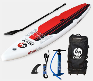 nixy inflatable touring paddle board