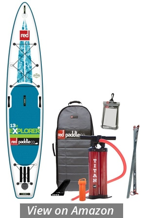 red paddle co explorer isup board