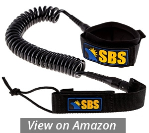 sbs coiled sup leash