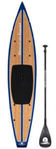 stand on liquid bamboo touring paddle board revere