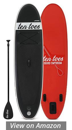 ten toes weekender inflatable paddle board