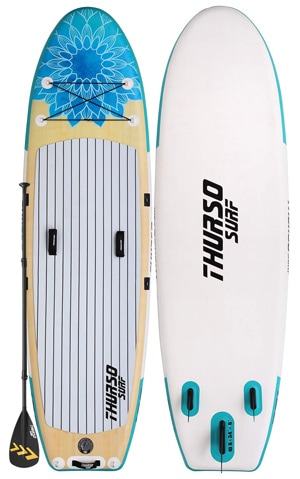 thurso tranquility stand up paddle board for yoga