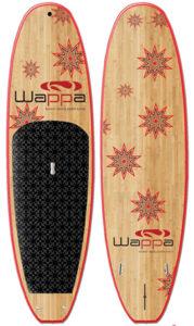 wappa bamboo sup paddle board