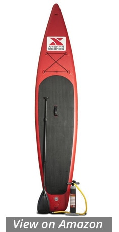 xterra touring inflatable paddle board